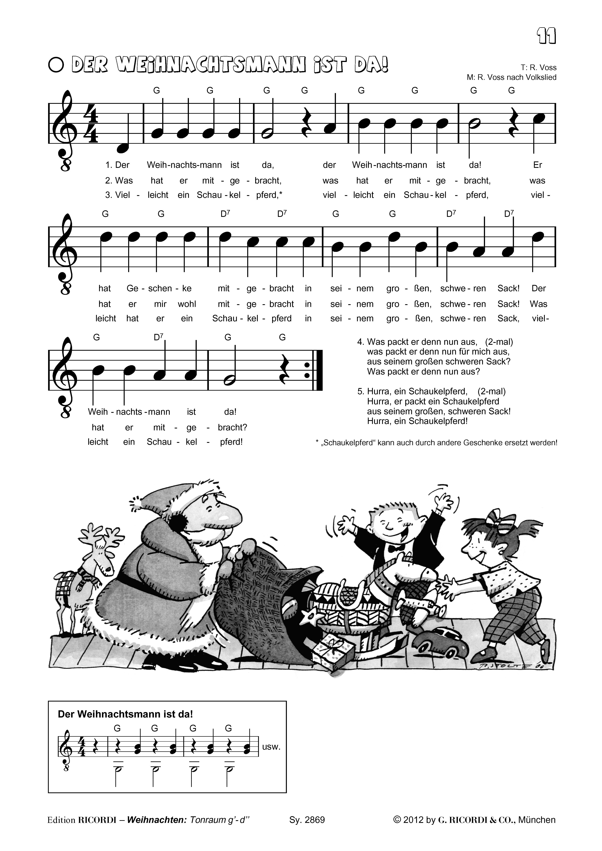 Richard Voss - Mein erstes Weihnachten mit der Gitarre